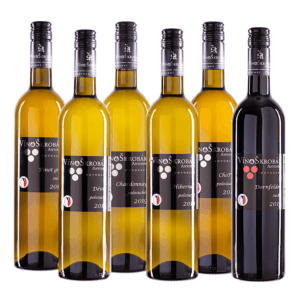 Degustační karton vína
