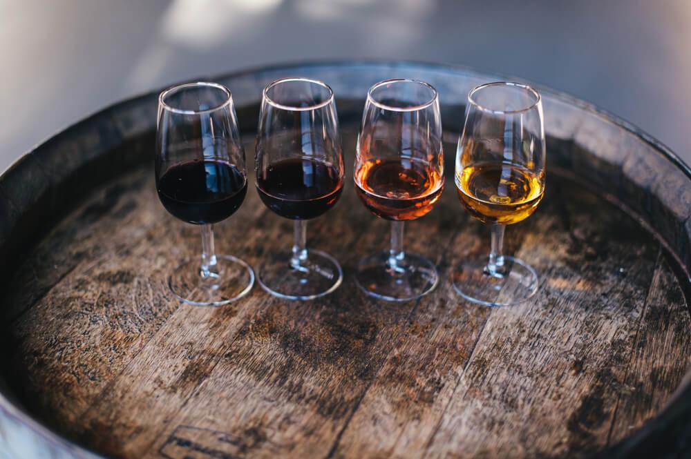 Vinařství Škrobák degustační pohárky vína
